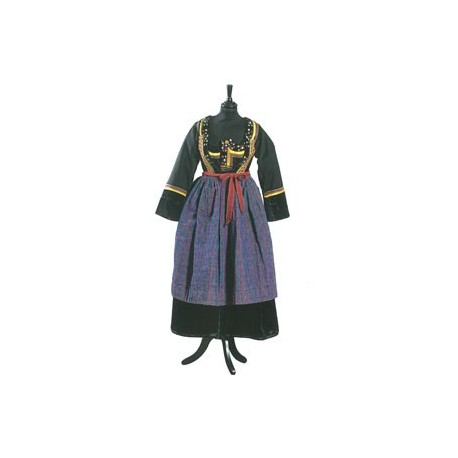 costume femme Elliant 1890