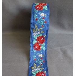 ruban de plougastel bleu