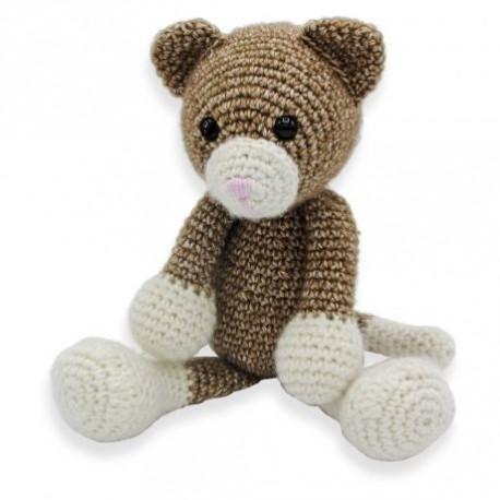 kit au crochet- Robbin le chat