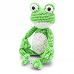 kit crochet- vinny la grenouille