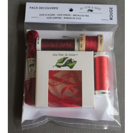 pack découverte - rouge