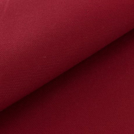 coton oxford rouge