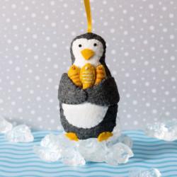 petit pingouin  pécheur