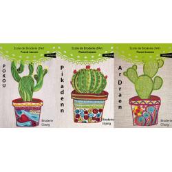 les trois cactus