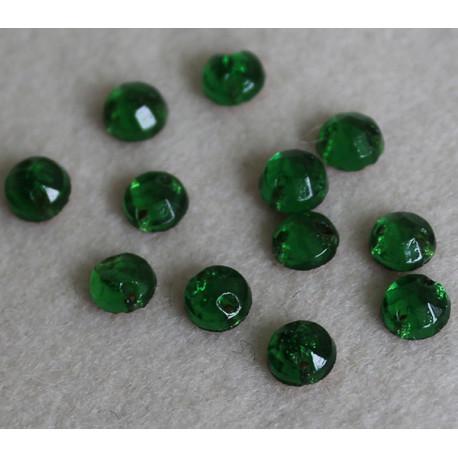 cabochon 5 mm vert