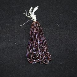 perles 3 facettes 16120/14° marron