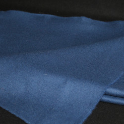 drap de laine bleu glazig